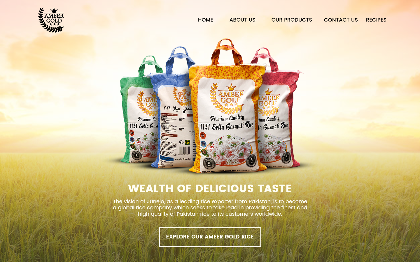 HP-Website Ameer Gold Rice