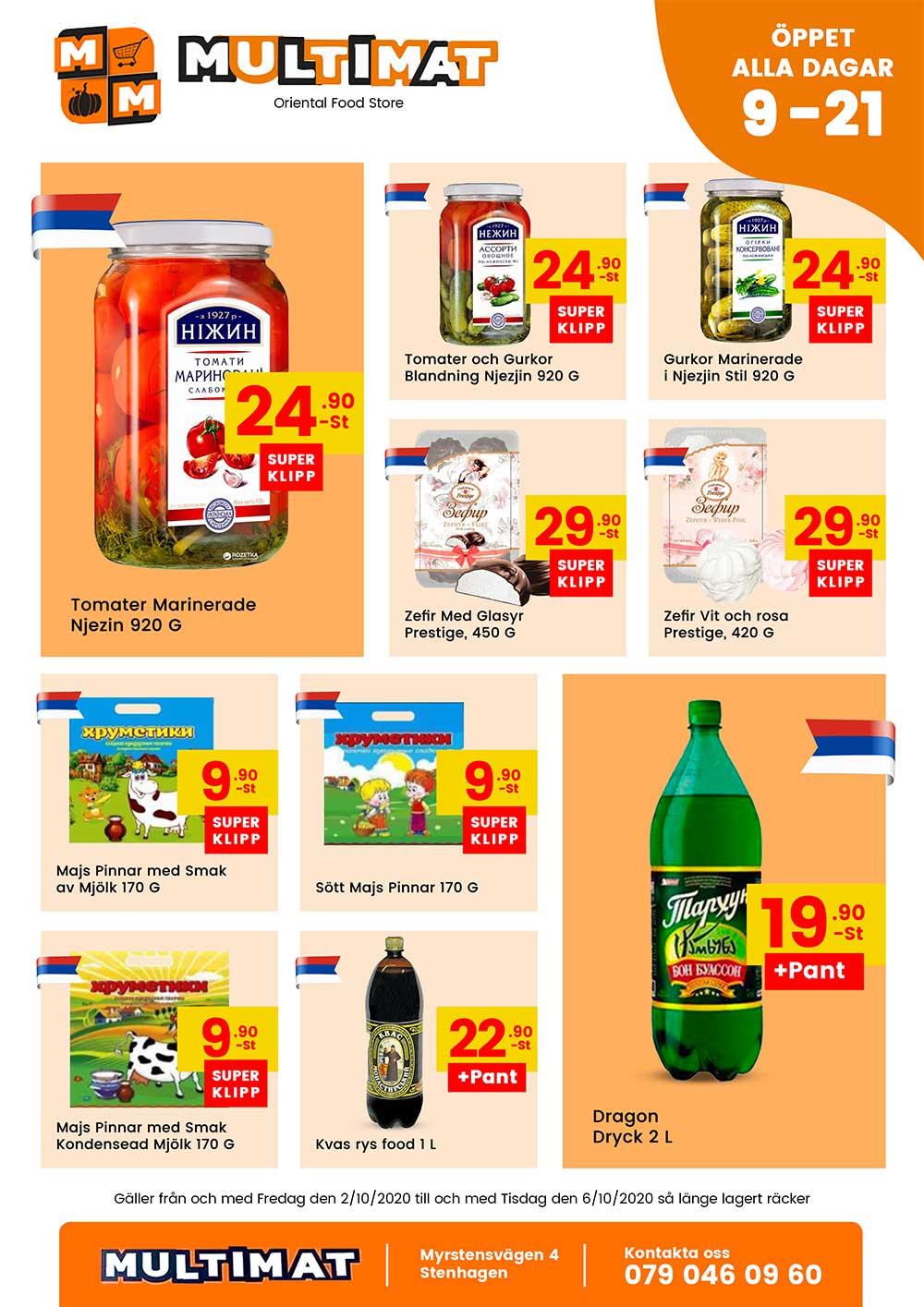 Nya MultiMat weekly offers 1