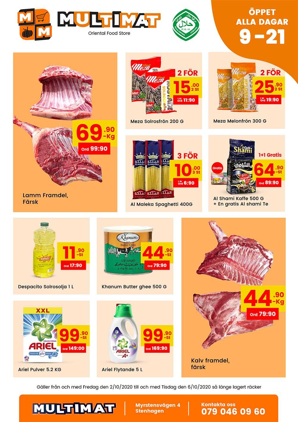 Nya MultiMat weekly offers 2